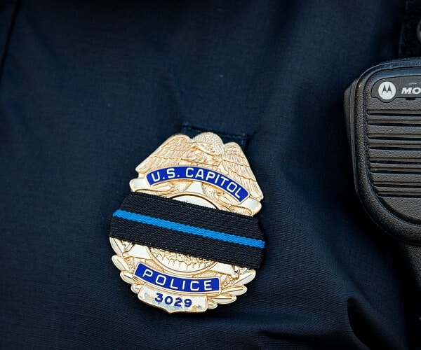 US Capitol Police badge